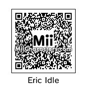 QR Code for Eric Idle by Mark