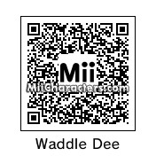 QR Code for Waddle Dee by PokemonDan