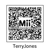 QR Code for Terry Jones by Mark