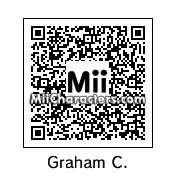 QR Code for Graham Chapman by Mark