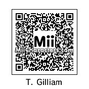 QR Code for Terry Gilliam by Mark