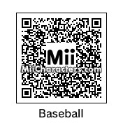 QR Code for Baseball Diamond by NAMWHO