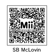 QR Code for Fogell/McLovin From Superbad by Tocci