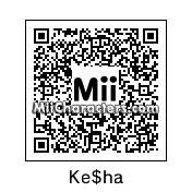 QR Code for Ke$ha by Emma