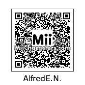 QR Code for Alfred E. Neuman by Johnny
