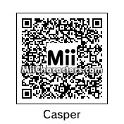 QR Code for Casper by Pac-Man
