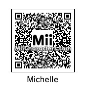 QR Code for Michelle Obama by LanieBlaze