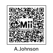 QR Code for Andrew Johnson by Dr. Evil