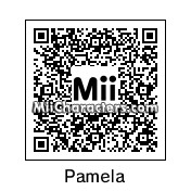 QR Code for Pamela Anderson by Cjv