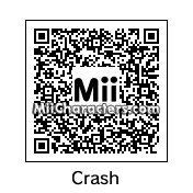 QR Code for Crash Bandicoot by Baby Link