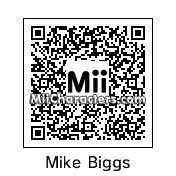 QR Code for Mike Biggs by Pakled