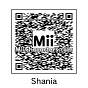 QR Code for Shania Twain by Shania