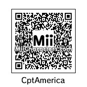 QR Code for Captain America by Pac-Man