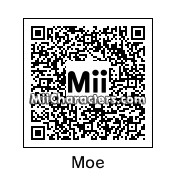 QR Code for Moe From The Simpsons by Cjv