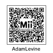 QR Code for Adam Levine by Erick
