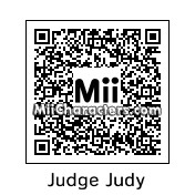 QR Code for Judge Judy by Sherrie