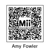 QR Code for Amy Farrah Fowler by Karen