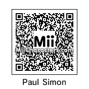 QR Code for Paul Simon by celery