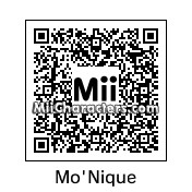 QR Code for Mo'Nique by Double *