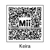 QR Code for Keira Knightley by Marcel