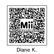 QR Code for Diane Keaton by Crystal M.