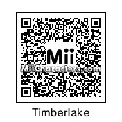 QR Code for Justin Timberlake by Cjv