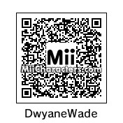 QR Code for Dwyane Wade by Blutuu