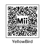 QR Code for Yellow Angry Bird by Geno