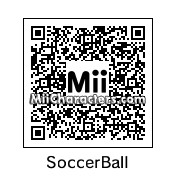 QR Code for Soccer Ball by Dexter