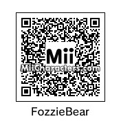 QR Code for Fozzie Bear by CheezyWhiz