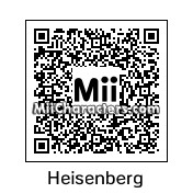 QR Code for Heisenberg by NAMWHO