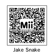 "QR Code for Jake ""the Snake"" Roberts by NAMWHO"