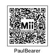 QR Code for Paul Bearer by NAMWHO
