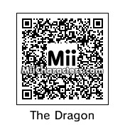 "QR Code for Ricky ""The Dragon"" Steamboat by NAMWHO"