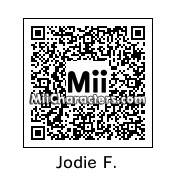 QR Code for Jodie Foster by Ajay