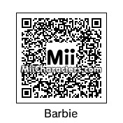 QR Code for Barbie Doll by Bonnii