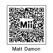QR Code for Matt Damon by mclovin