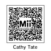 QR Code for Catherine Tate by Ood