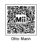 QR Code for Otto Mann by SimpsonGuy