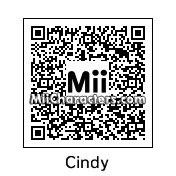 QR Code for Cindy Crawford by Toast