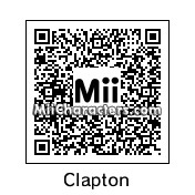 QR Code for Eric Clapton by Tom Petty