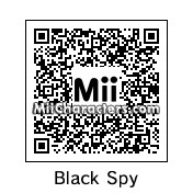 QR Code for Black Spy by Woodstock