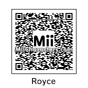 QR Code for Royce Gracie by Jessii