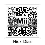 QR Code for Nick Diaz by Jessii