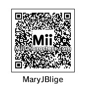 QR Code for Mary J. Blige by Double *