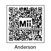 QR Code for Anderson Silva by Jessii