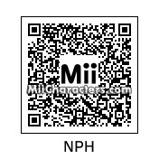 QR Code for Neil Patrick Harris by Double *