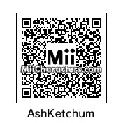 QR Code for Ash Ketchum by Ryan
