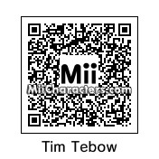 QR Code for Tim Tebow by jc