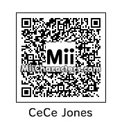 QR Code for CeCe Jones by A-RON